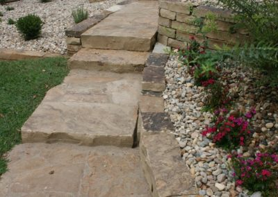 ADJ Landscaping Services - Paver Walkway